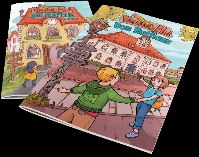 Zwei Hefte der VerstehMal Reihe