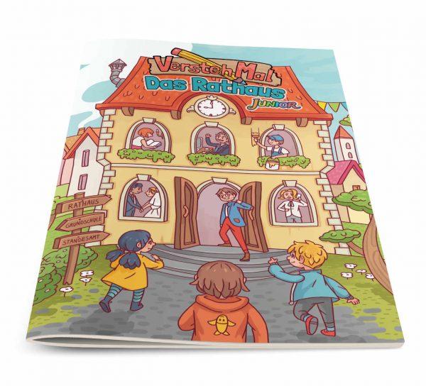 Titelbild vom Lernheft VerstehMal: Das Rathaus Junior