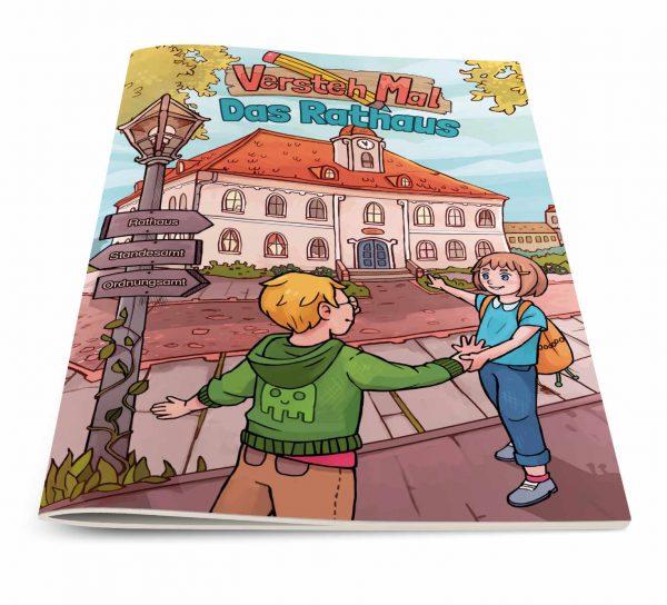 Titelbild vom Lernheft VerstehMal: Das Rathaus